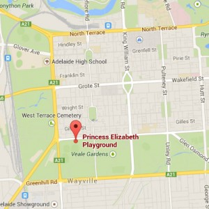 Princess Elizabeth map