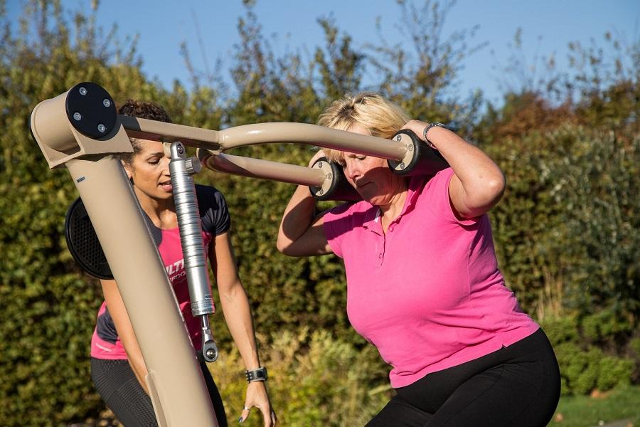 Proludic Urbanix Fitness Squat Machine