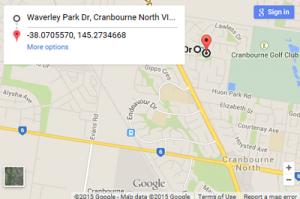 Waverley Park location