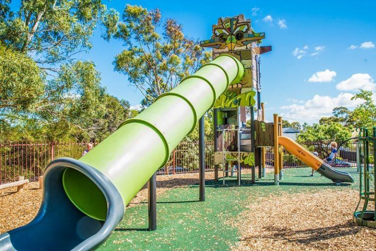 SA – Unley Oval hilltop playground