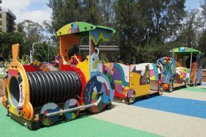 Hughes Park Train