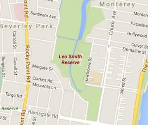 Leo Smith map