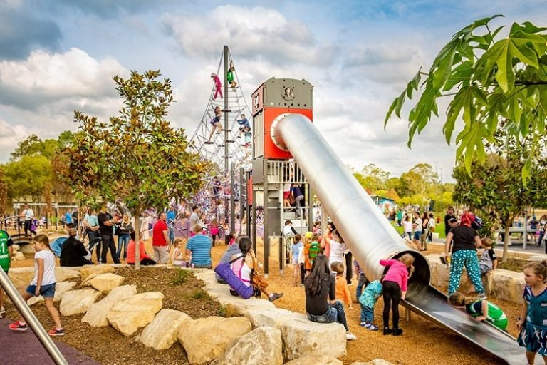 Birriwa Reserve Outdoor Youth Space, Mount Annan
