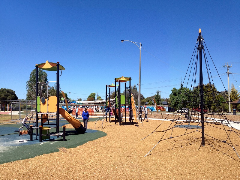 George Lay Park playground