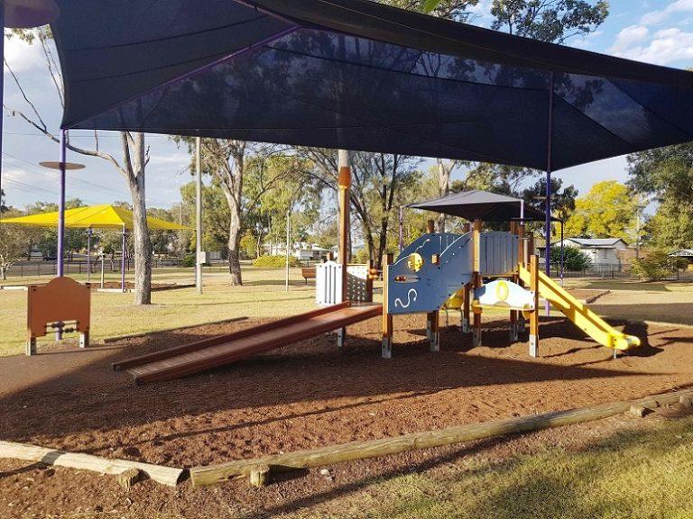 Lions Park, Chinchilla inclusive playground