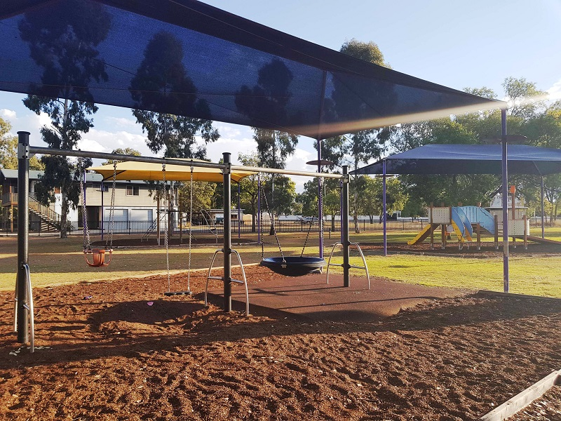 Lions Park Chinchilla inclusive playround