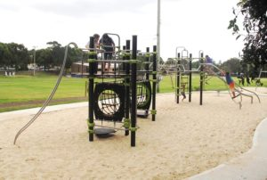 Anzac Oval playground