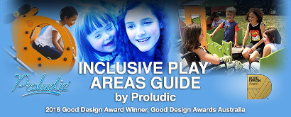 Banner Inclusive Play Areas