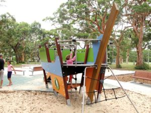Bundeena Oval playground