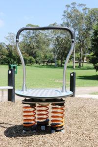 John Peat Reserve playground