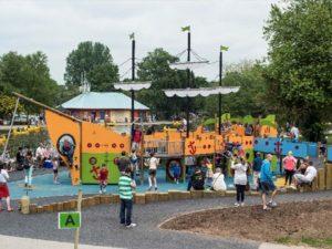 Markeaton Park inclusive playground