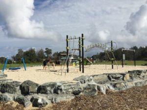 Pebbly Beach Playground