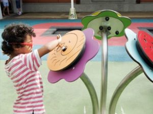 St Lucy's School inclusive playground