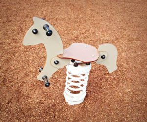 Minmi Progress Hall Playground J857 Horse springer