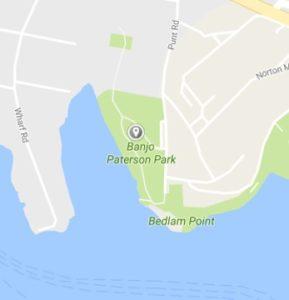 Banjo Paterson map