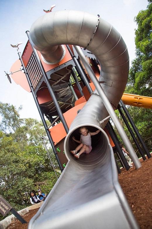 Tower Giant Tube Slide