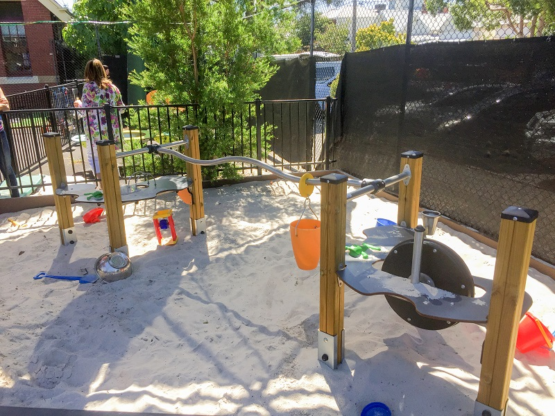 Port Phillip Specialist School Sensory Play Space