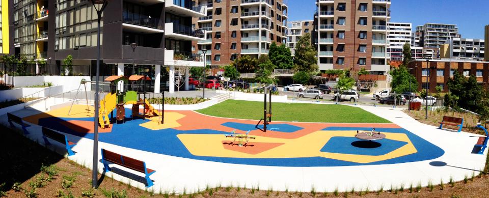 Mascot Square Playground