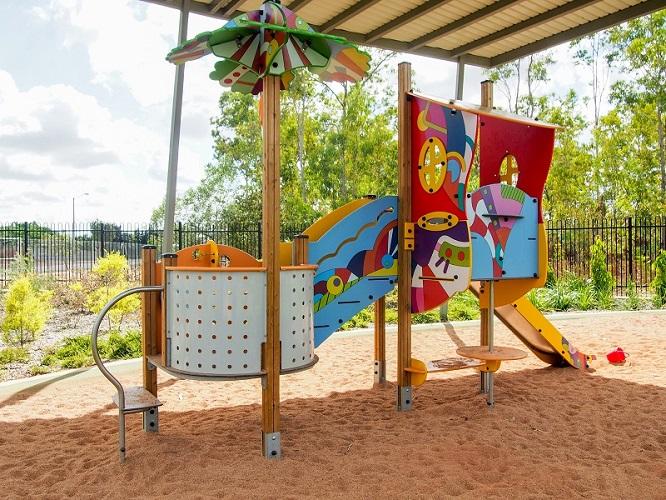 Forrest Parade School Playground