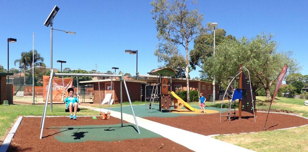 Harold Fraser Oval Playground