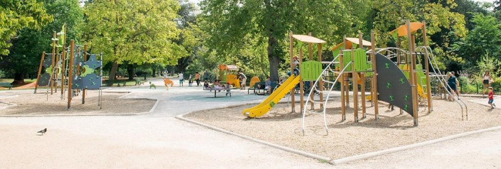 Jardin des Plantes Toulouse Playground