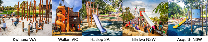 Awards winning playgrounds