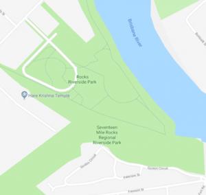 Rocks Riverside map
