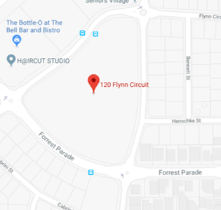 Forrest Parade School map
