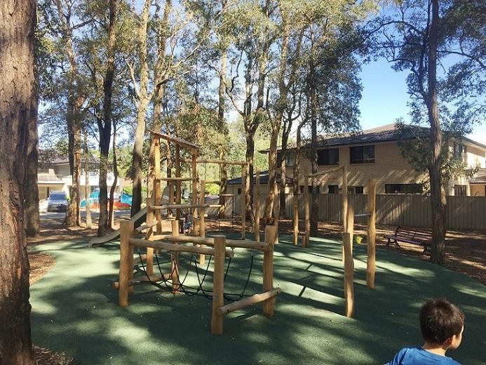 Caledonia Crescent Reserve nature playground