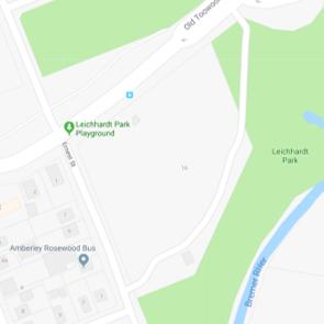 Leichhardt Park map