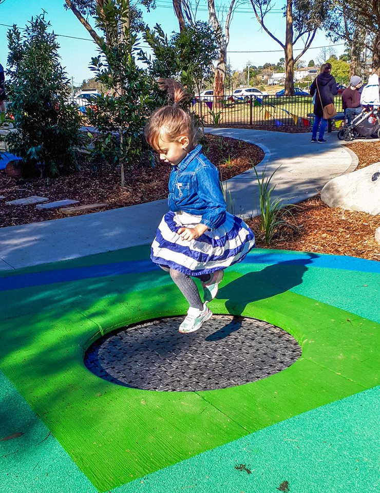 Governor Phillip Park Proludic Inclusive Trampolines