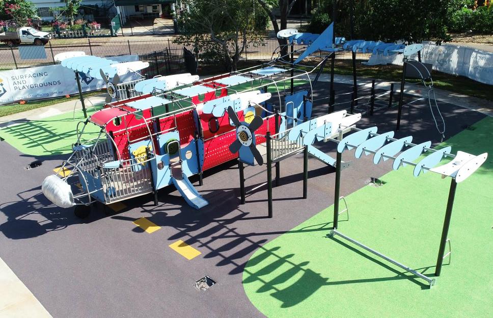 Nemarluk School inclusive accessible Playground