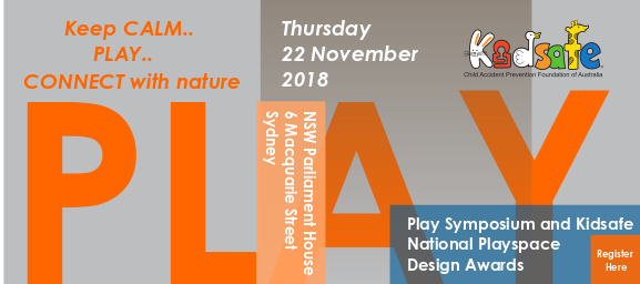 Kidsafe Play Symposium 2018