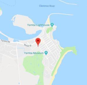 Lions Park Yamba map