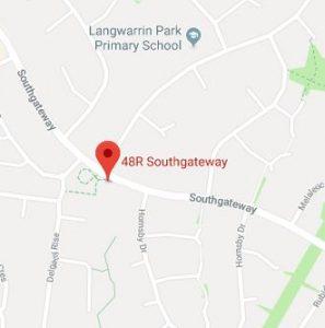 Southgateway Reserve map