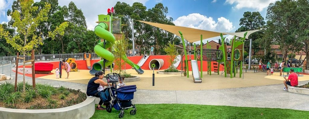 Ollie Webb Reserve all-inclusive playground