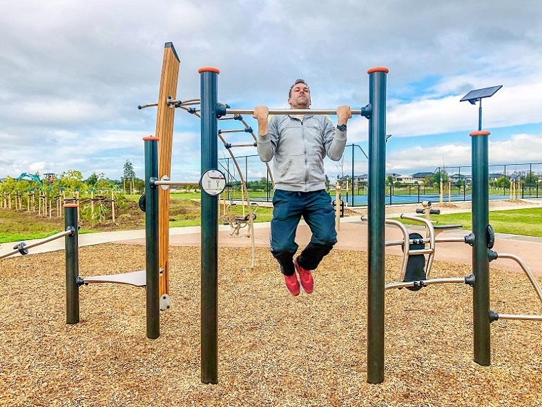 Berwick Springs Outdoor Fitness
