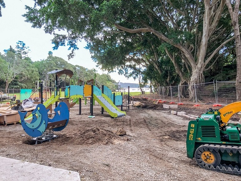 Parsley Bay Playground, NSW