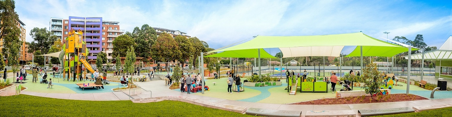 Waitara Park inclusive playspace
