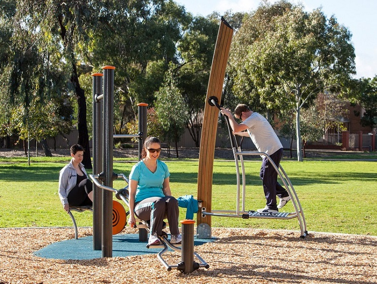 Josiah Mitton Reserve Fitness Station