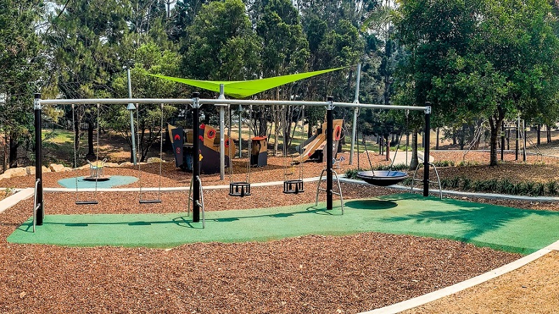 Alex Bell Park Inclusive Playspace