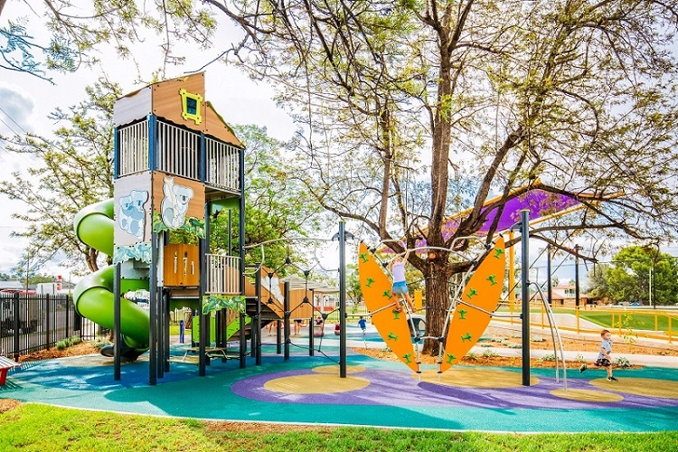 Wolseley Park Inclusive Playground