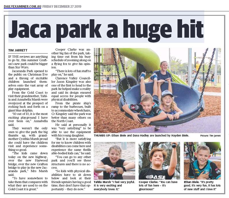 Jacaranda Park kids reviews