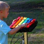 Percussion Play Rainbow Trio Metallophone