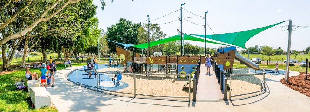 Jacaranda Park Inclusive Playspace, NSW