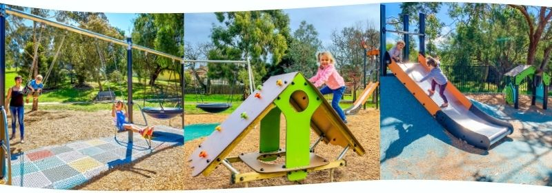 Traditional play equipment