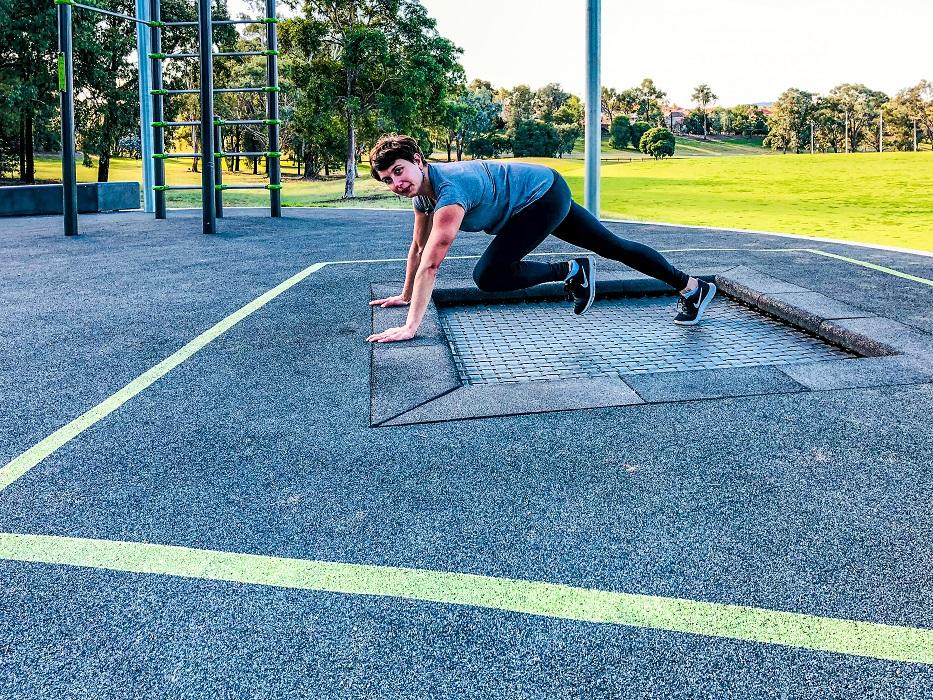Inclusive Trampoline for fitness