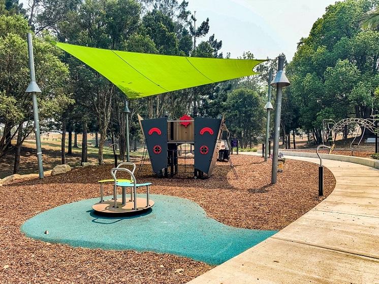 NSW – Alex Bell Park Inclusive Playground