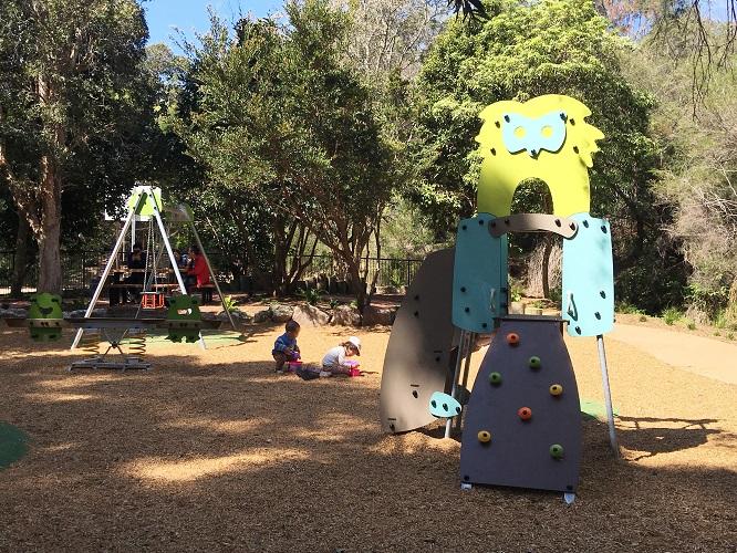 NSW – Castle Cove Park playground