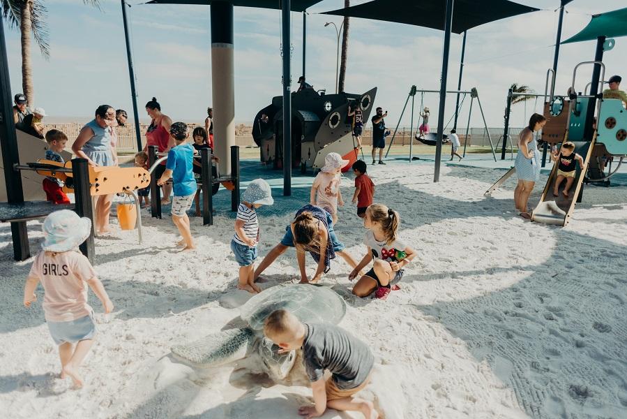 WA – Cemetery Beach Playspace